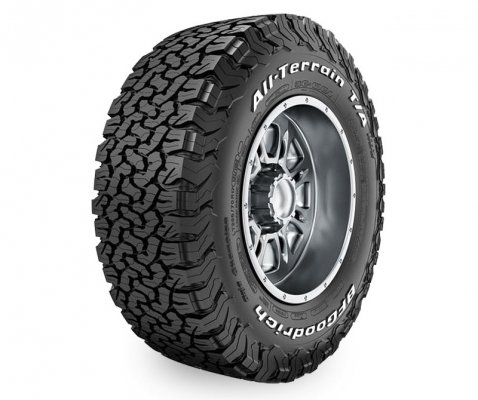 BF Goodrich 2757018 125/122R 10PR All Terrain T/A KO2